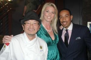 Ludacris with Chef Chris Yeo