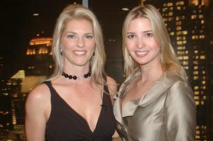 Corinna and Ivanka Trump at Trump Towers Atlanta