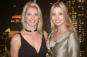 Corinna and Ivanka Trump at Trump Towers Atlanta