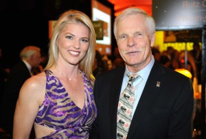 Corinna with Ted Turner