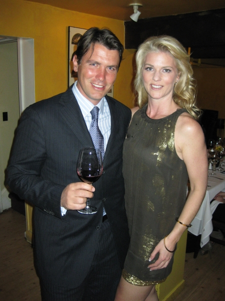Corinna with Salvatore Ferragamo
