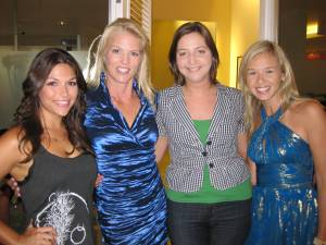 Corinna with DeAnna Pappas, Kate Atwood, and Jenn Hobby