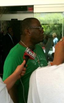 Randy Jackson at the W Atlanta Midtown