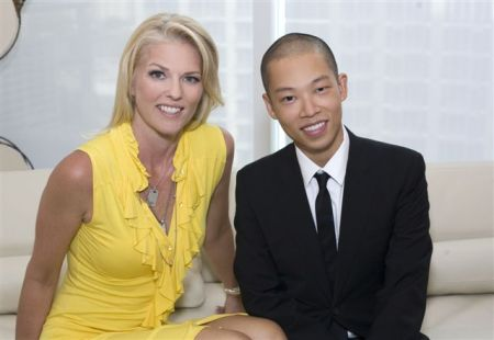 Corinna with Jason Wu