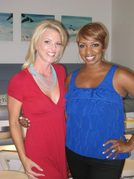 Corinna with Ne Ne Leakes
