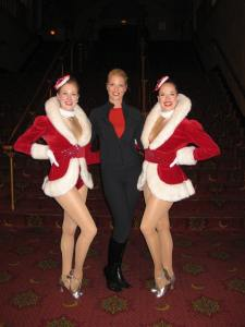 Corinna with the Rockettes